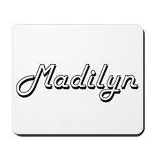Madilyn Classic Retro Name Design Mousepad