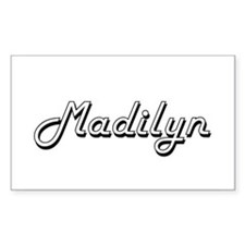 Madilyn Classic Retro Name Design Decal