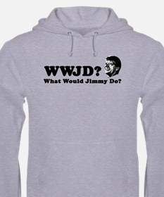 What Would Jimmy Do? Hoodie (Grey)
