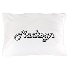 Madisyn Classic Retro Name Design Pillow Case