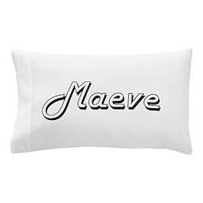 Maeve Classic Retro Name Design Pillow Case