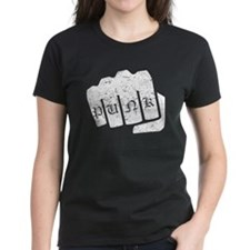 Punk Knuckle Tattoo (Distressed) T-Shirt