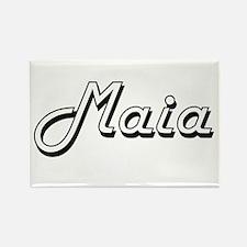 Maia Classic Retro Name Design Magnets