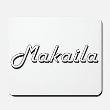 Makaila Classic Retro Name Design Mousepad