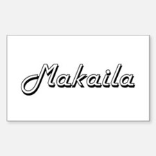 Makaila Classic Retro Name Design Decal