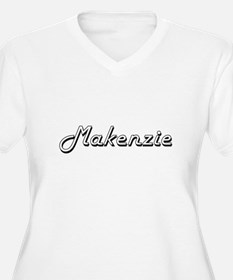 Makenzie Classic Retro Name Desi Plus Size T-Shirt