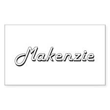 Makenzie Classic Retro Name Design Decal