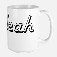 Maleah Classic Retro Name Design Mugs