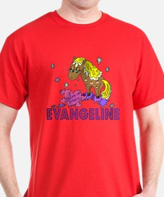 I Dream Of Ponies Evangeline T-Shirt