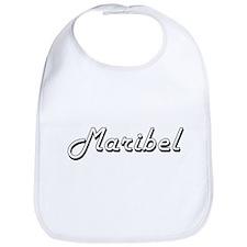 Maribel Classic Retro Name Design Bib