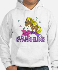 I Dream Of Ponies Evangeline Hoodie Sweatshirt