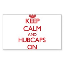 Keep Calm and Hubcaps ON Decal