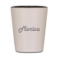 Marisa Classic Retro Name Design Shot Glass