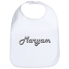 Maryam Classic Retro Name Design Bib