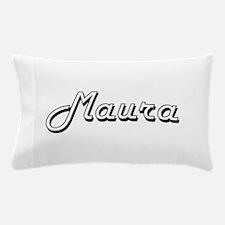 Maura Classic Retro Name Design Pillow Case
