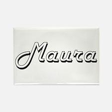 Maura Classic Retro Name Design Magnets