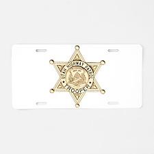 Utah Highway Patrol Aluminum License Plate