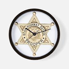 Utah Highway Patrol Wall Clock