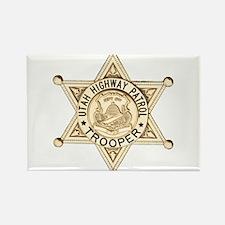 Utah Highway Patrol Rectangle Magnet
