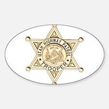 Utah Highway Patrol Sticker (Oval)