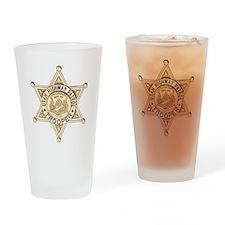 Utah Highway Patrol Drinking Glass
