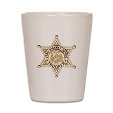 Utah Highway Patrol Shot Glass