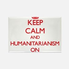 Keep Calm and Humanitarianism ON Magnets