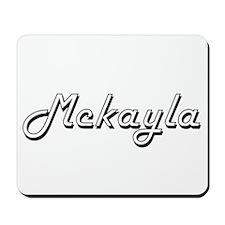 Mckayla Classic Retro Name Design Mousepad