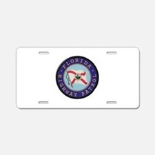 Florida Highway Patrol Aluminum License Plate