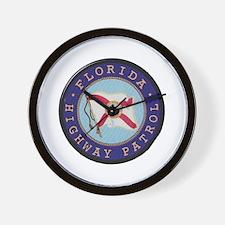 Florida Highway Patrol Wall Clock