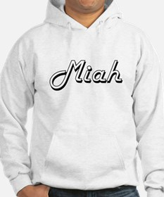 Miah Classic Retro Name Design Hoodie Sweatshirt