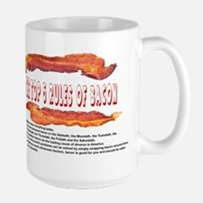THE TOP 5 RULES OF BACON Mugs