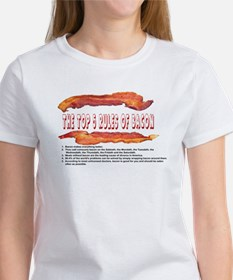 THE TOP 5 RULES OF BACON T-Shirt
