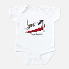 Yoga buddy leap Infant Bodysuit