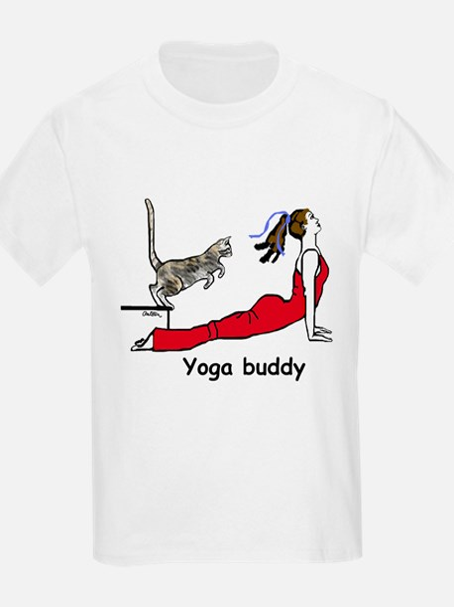 Yoga buddy leap T-Shirt