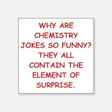 chemistry joke Sticker