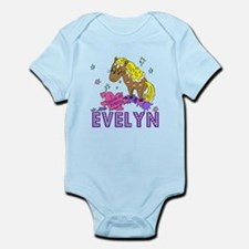 I Dream Of Ponies Evelyn Infant Bodysuit