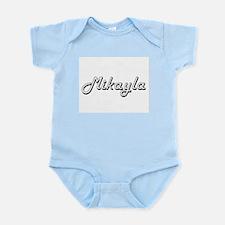 Mikayla Classic Retro Name Design Body Suit