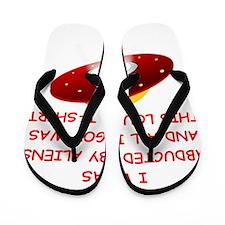 aliens Flip Flops