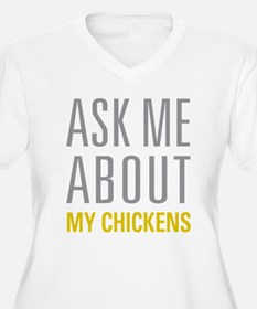 My Chickens Plus Size T-Shirt