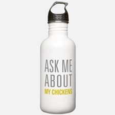 My Chickens Water Bottle
