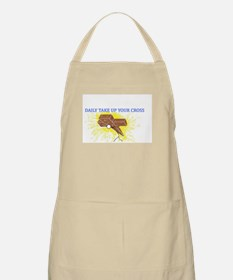 Take up your Cross BBQ Apron
