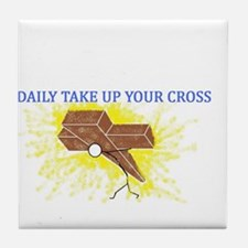 Take up your Cross Tile Coaster