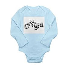 Miya Classic Retro Name Design Body Suit