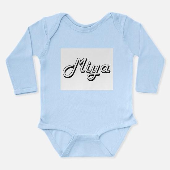 Miya Classic Retro Name Design Body Suit