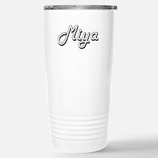 Miya Classic Retro Name Stainless Steel Travel Mug