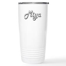 Miya Classic Retro Name Travel Mug