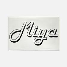 Miya Classic Retro Name Design Magnets