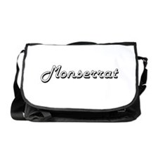 Monserrat Classic Retro Name Design Messenger Bag