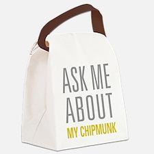 My Chipmunk Canvas Lunch Bag